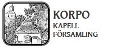 Korpo kapellförsamling - Förstasidan